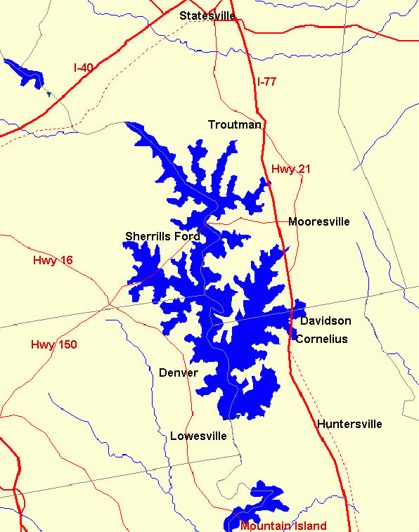 lake norman fishing map Lake Norman Bay Pointe Home Owners Association lake norman fishing map
